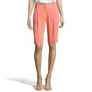"Alice + Olivia ""Eric"" long pleated gaucho shorts"
